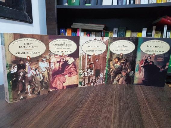 Lote 5 Livros De Charles Dickens