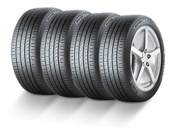 Kit 4 Pneus 195/55r15 Barum Bravuris 3hm 85v By Continental