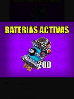 Materiales Salvar Al Mundo Baterías Activas X 200