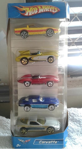 Miniaturas Pack C/ 5 Corvette Hot Wheels Novo / Lacrado !!!