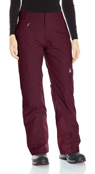 Pantalon De Nieve Ski Hielo Invierno Wp Spyder Athletic Fit