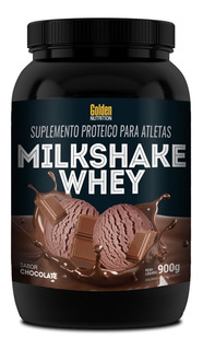 Milk Shake Whey Chocolate - 900g - Golden Nutrition