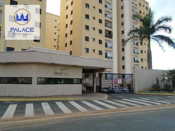 Apartamento Com 3 Dormitórios À Venda, 87 M² Por R$ 350.000,00 - Nova América - Piracicaba/sp - Ap0386