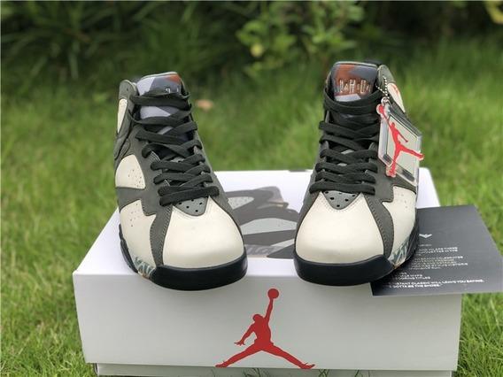 Tenis Nike Jordan 7 Retro Patta Originales Hombre Caballero