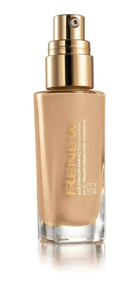 Base Liquida Renew Avon Transformadora Bege Medio 30ml