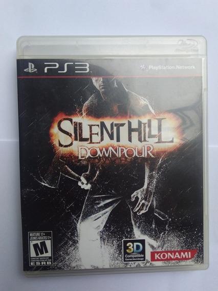 Jogo Silent Hill Downpour Ps3 Midia Fisica Completo R$89,90