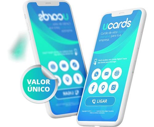 Imagem 1 de 3 de Cartão De Visita Interativo Digital