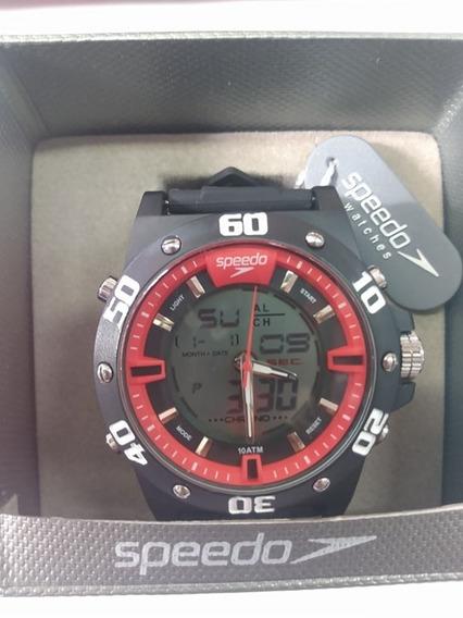 Relógio Masc. Analógico Speedo -preto 69020g0eunv2mostruário