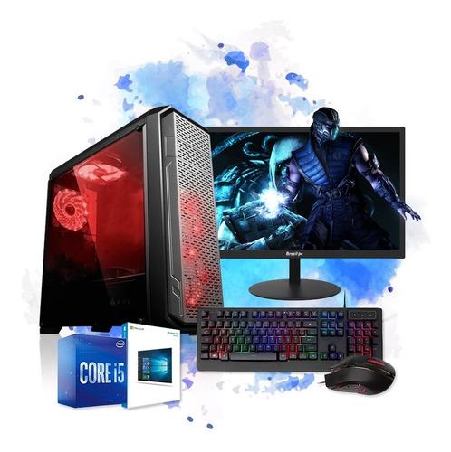 Imagem 1 de 5 de Cpu Gamer I5 8gb Hd 1tb Wifi Placa De Vídeo R5 230 + Jogos