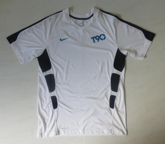 Camiseta Nike Total 90 M Dri-fit Tecido Costas Respirável