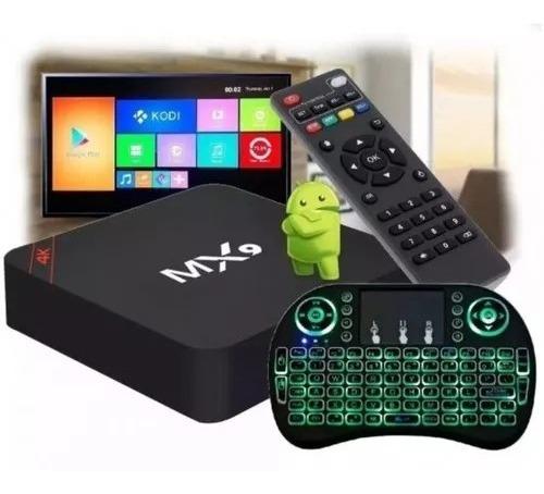 Conversor Smart Tv 2gb Ram 16gb Teclado Led Android 7.1