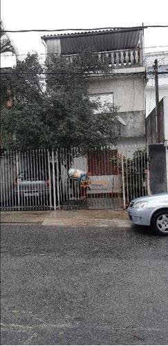 Terreno À Venda, 170 M² Por R$ 650.000 - Lauzane Paulista - São Paulo/sp - Te0099