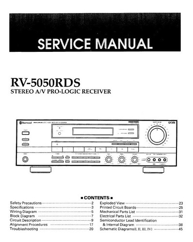 Manual De Serviço Receiver Gradiente Dpr-300 - Em Pdf