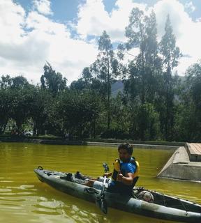 Kayak De Pesca Con Pedales