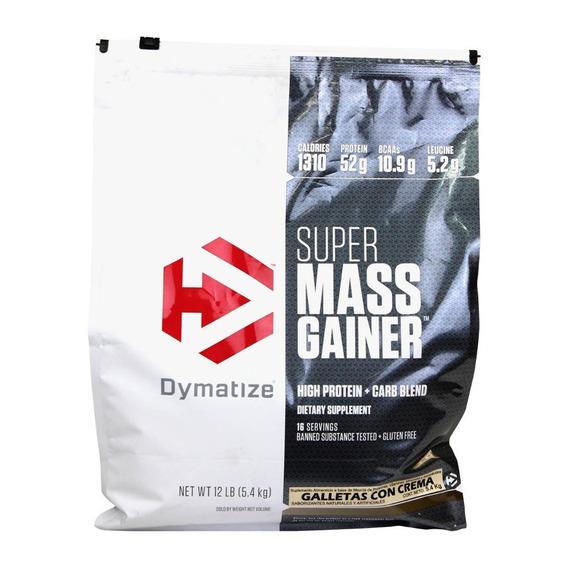 Proteina Dymatize Super Mass Gainer 12 Libras Envio Gratis