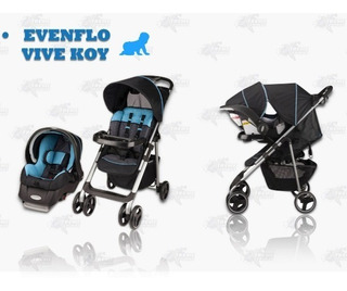 Carreola Travel System Evenflo Vive Sport Xtrem P