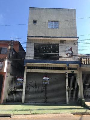 Salão Para Alugar, 80 M² Por R$ 1.500/mês - Jardim Palmira - Guarulhos/sp - Sl0105