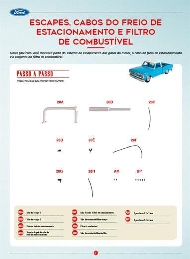 Picape Ford F-100 Edição 28 Editora Salvat