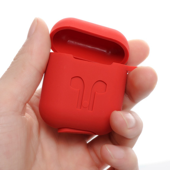 Caso Earpods De Silicone Para Apple AirPods Sem Fio Bt Fone