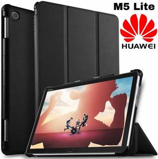 Huawei Mediapad M5 Lite 10.1 Funda Book Cover Protector Flip