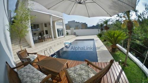 Imagem 1 de 17 de Casa Com 5 Dormitórios À Venda, 398 M² Por R$ 2.450.000,00 - Alphaville - Santana De Parnaíba/sp - Ca1111