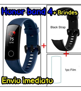 Relogio Huawei Honor Band 4 +película+pulseira Extra+brindes