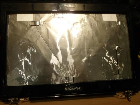 Carcaça-tampa Da Tela Notebook Megaware -mod: Meganote - Completa