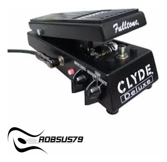 Pedal Wah Fulltone Clyde Deluxe C/ Nf-e & Garantia