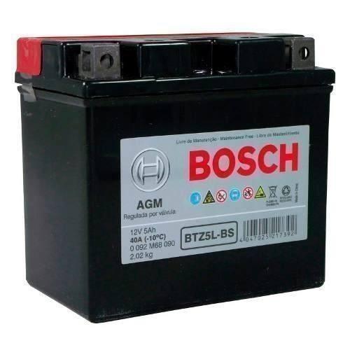 Bateria Moto Bosch Btz5l-bs Inmetro 13653