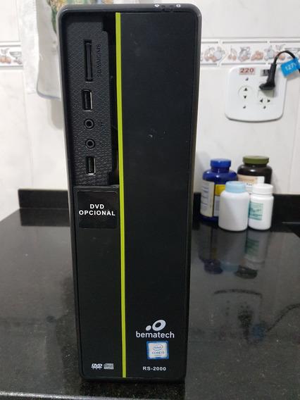 Desktop Bematech Rs-2000 - Intel I3 & Ram 4gb & 500gb De Hd