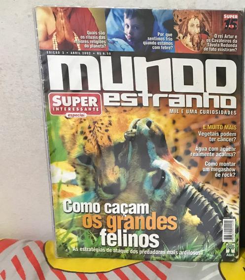 Revista Mundo Estranho N° 3 - Abril 2002