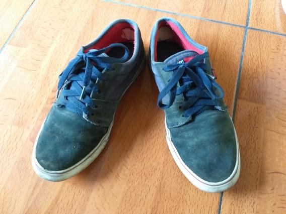 Zapatilla Azul Oscuro Hombre Talle 40.5 Eur