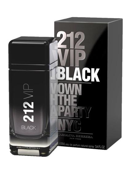 Perfume 212 Vip Black Edp 200ml + Brinde - 100% Original