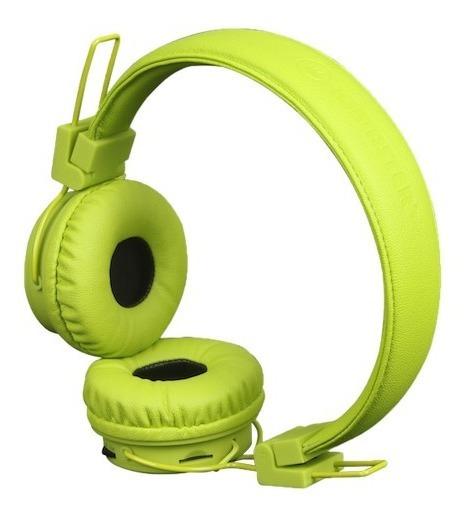 Headphone - Fone De Ouvido Colorido Bluetooth Verde