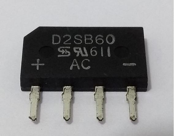 Diodo Ponte D2sb60 2a 600v Original Pcte C/10 Pçs
