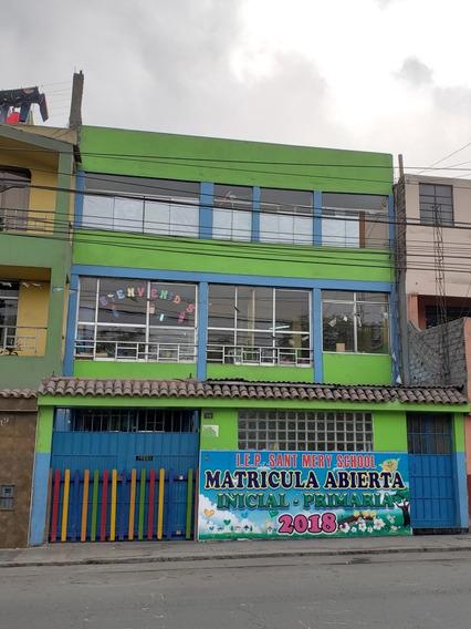 Casa 3 Pisos Acondicionado Colegio Negocio Zarate Sjl