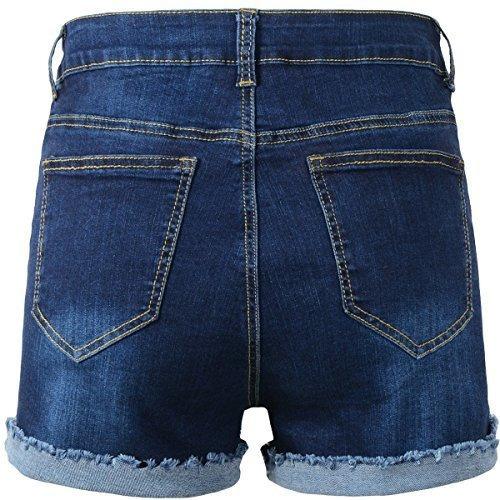 d94659274784 Shorts Dama De Jeans Hasta La Cintura - Ropa, Zapatos y Accesorios ...