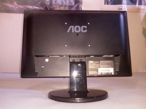 Led Monitor De Computador De Mesa Aoc 15,5 Pol Autofalantes
