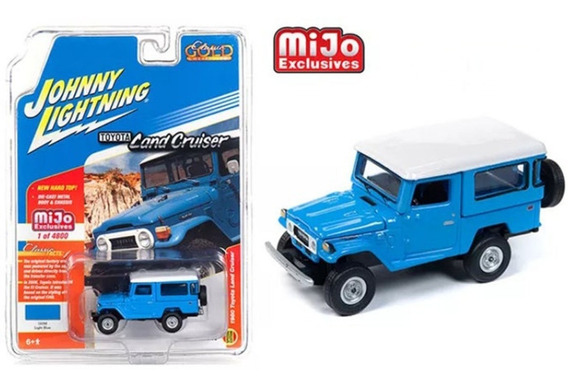 Johnny Lightning 1980 Toyota Land Cruiser Fj40 Escala 1:64