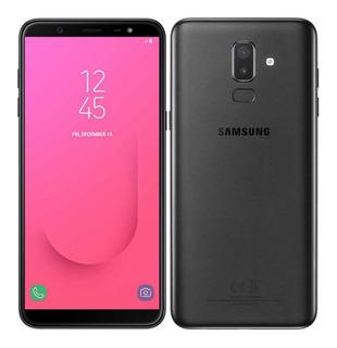 Celular Samsung Galaxy J8 Negro 32 Gb Sellado 4g Lte Ds