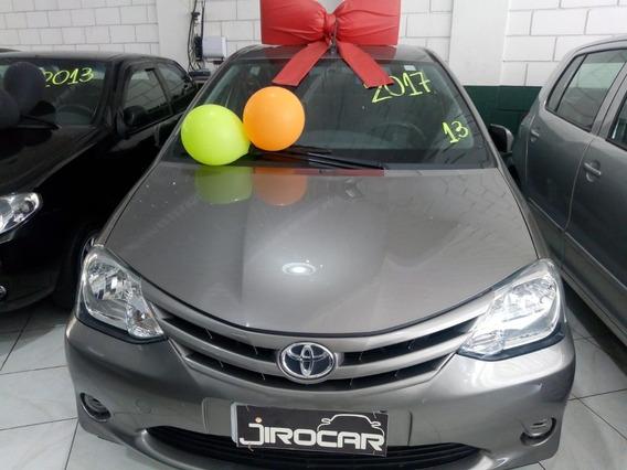 Toyota Etiuos Hatch 1.3x - Completo Gasolina E Álcool