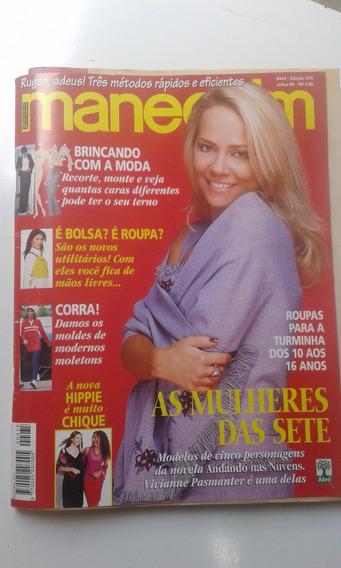 Revista - Manequim 475 - As Mulheres Das Sete - Hippie