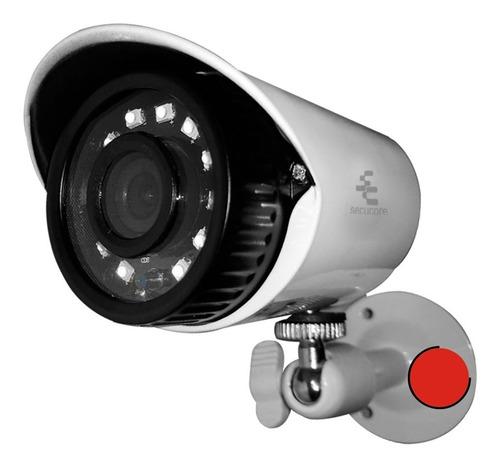Imagen 1 de 7 de Camara Cctv Seguridad Exterior Bullet Vigilancia Metalica