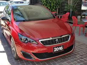 Peugeot 308gt 2016 Rojo
