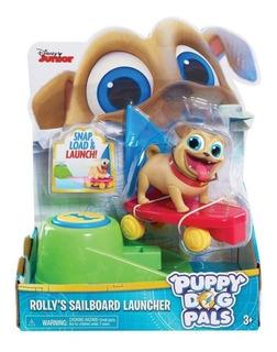 Puppy Dog Pals Tabla De Surf Lanzadera Rolly