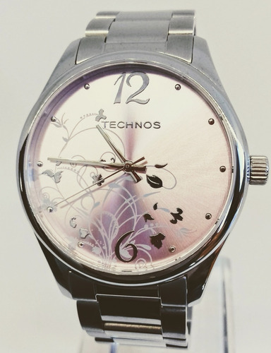 Relógio Technos Feminino Em Aço Fashion Trend 2035ccmg/1g