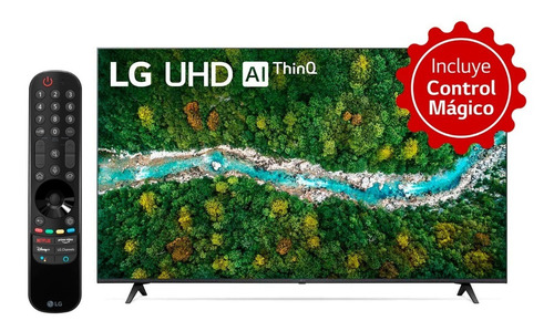 Imagen 1 de 5 de Televisor LG 55 Pulgadas Uhd 4k 55up7750 Smart Tv