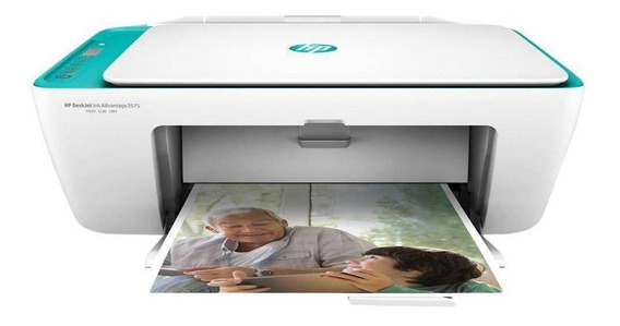 Impressora Multifuncional Hp Deskjet 2676 Wi-fi Nova C/nf