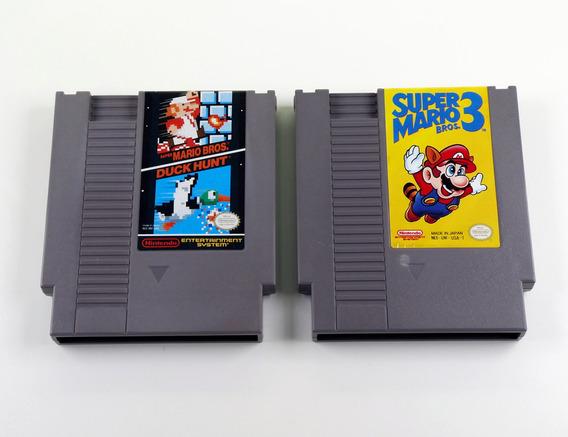 Lote 2 Jogos Originais Nintendo Nes 021