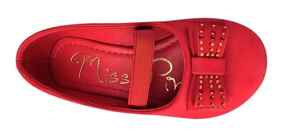 Zapatos Casuales Miss Pink 130242 15-17 Suede Rojo